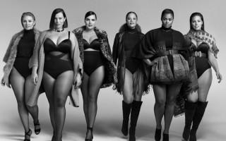 10 красивых моделей plus-size