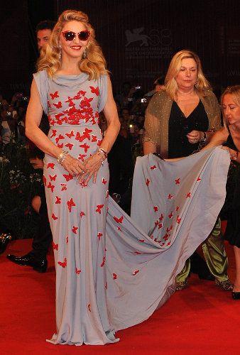 Мадонна на премьере