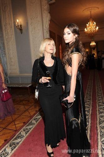 Вера Глаголева с младшей дочерью Анастасией Шубской