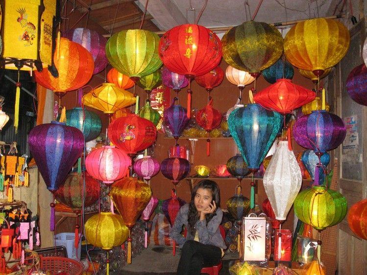 Фестивальные японские фонарики.