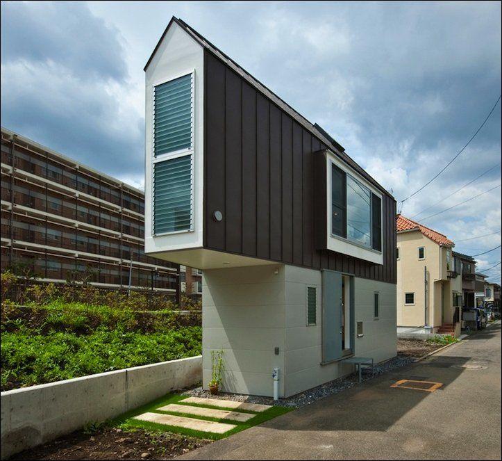 Самый узкий дом в Японии