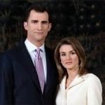 Принц Филиппе и принцесса Летиция