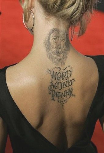 Мена Сувари татуировка