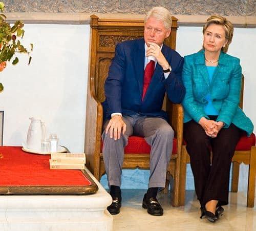 Билл Клинтон /Bill Clinton/ и Хилари Клинтон /Hillary Clinton/