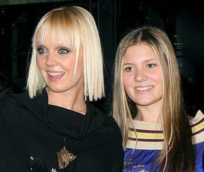 Валерия с дочерью, Анной Шульгиной