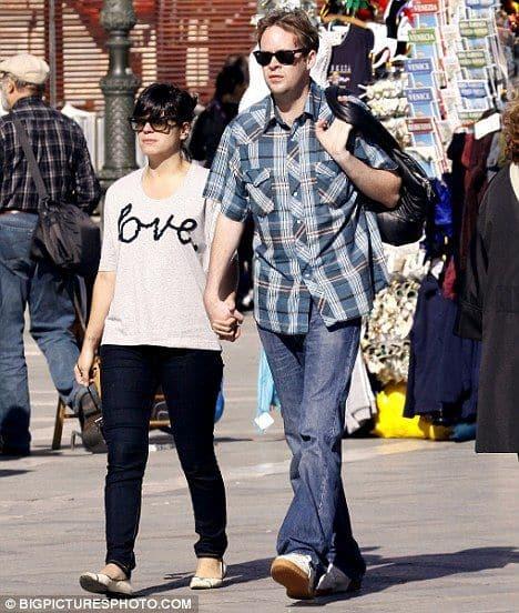 Лили Аллен с мужем