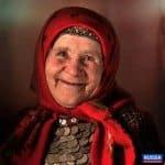 Участница коллектива Бурановские бабушки