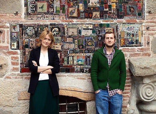 Надежда Михалкова с супругом