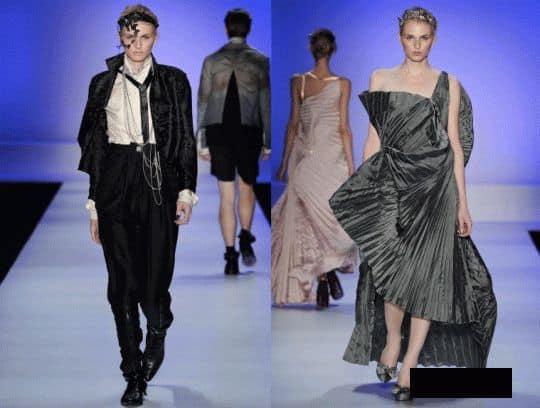 Андрей Пежич на модном показе