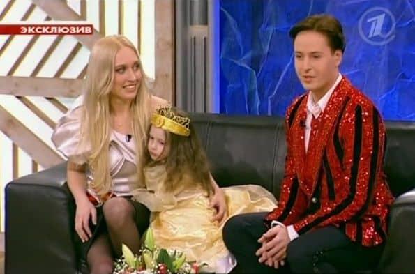 Витас и его семья, кадры сделанные во время съемок телепередачи
