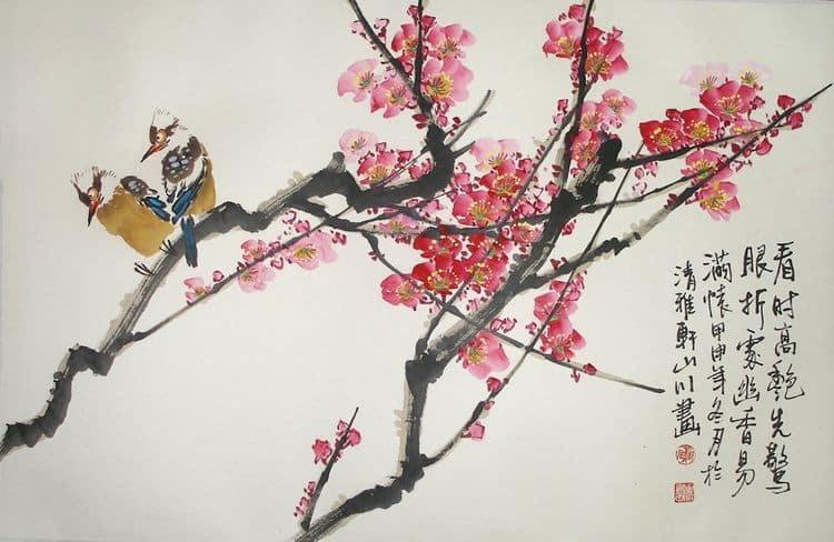 Картина китайского мастера