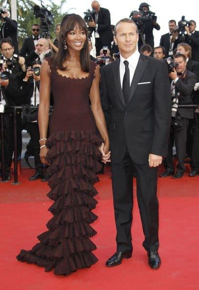 Naomi Campbell and  Vladimir Doronin