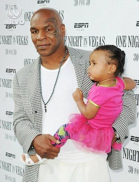 Майк Тайсон с дочерью