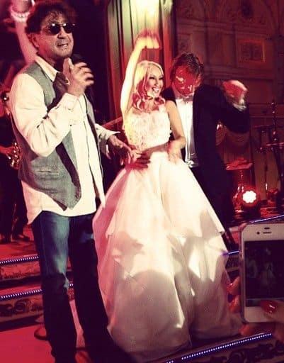 Свадьба Леры Кудрявцевой и Игоря Макарова, молодых поздравляет Георгий Лепс