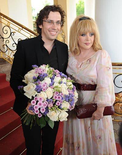 Алла Пугачева с супругом Максимом Галкиным