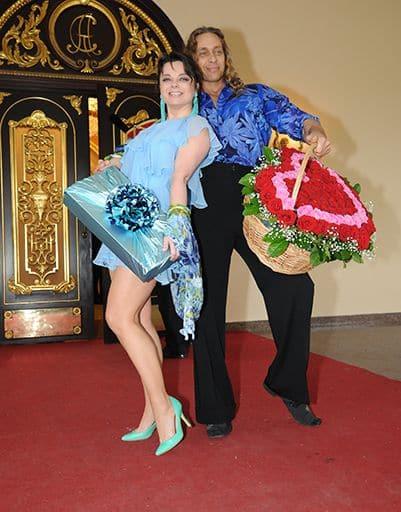 Наташа Королева с супругом