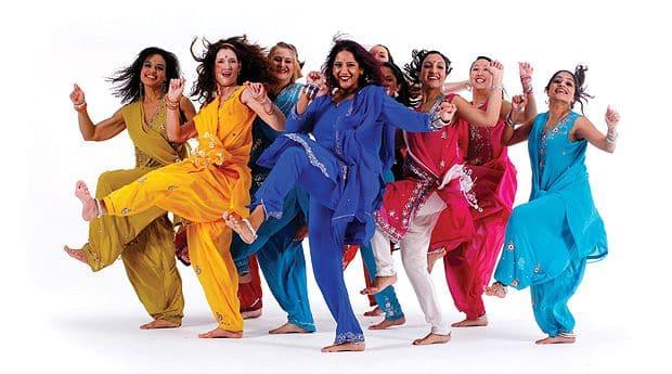 Зажигательные танцы, обязательный элемент любого индийского фильма