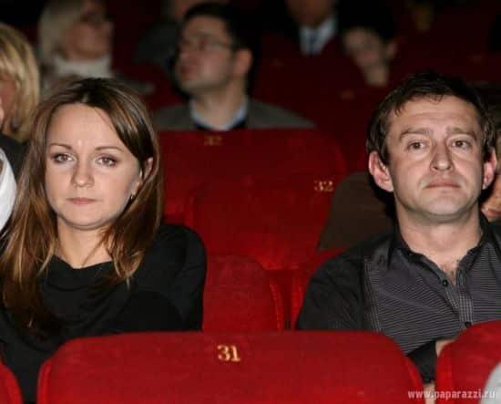 Константин Хабенский и его жена Ольга Литвинова