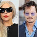 Леди Гага и Джонни Дэпп