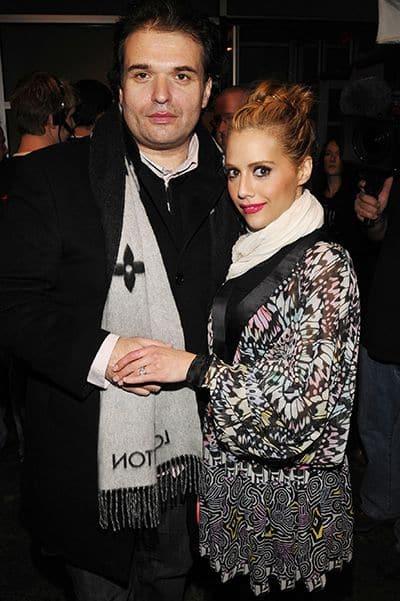 Британни Мерфи с мужем Саймоном Моньяком