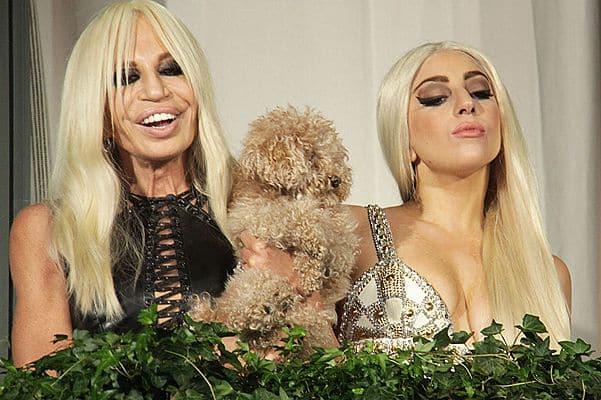 Леди Гага и Донателла Версаче