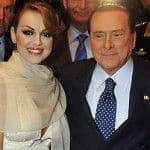 Сильвио Берлусконе и Франческа Паскале