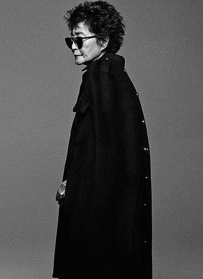 Йоко Оно в новой фотосессии для журнала Interview