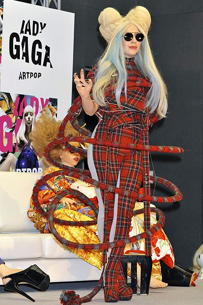 Lady Gaga attends a press conference for her new album 'Artpop' at Roppongi Academy Hills Featuring: Lady Gaga Where: Tokyo, Japan When: 01 Dec 2013 Credit: Kento Nara/Future Image/WENN.com **Not available in Germany, Poland, Russia, Hungary, Slovenia,