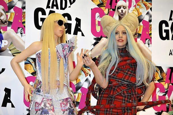 Леди Гага с силиконовым двойником