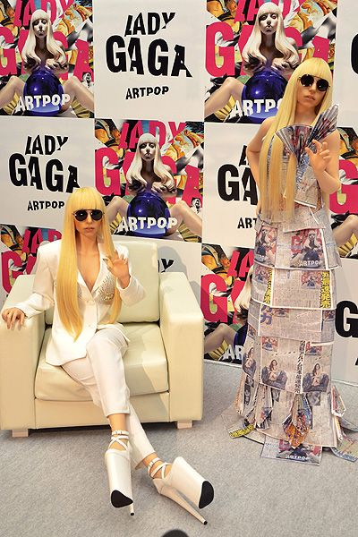 Lady Gaga attends a press conference for her new album 'Artpop' at Roppongi Academy Hills Featuring: Lady Gaga Doll Where: Tokyo, Japan When: 01 Dec 2013 Credit: Kento Nara/Future Image/WENN.com **Not available in Germany, Poland, Russia, Hungary, Slove