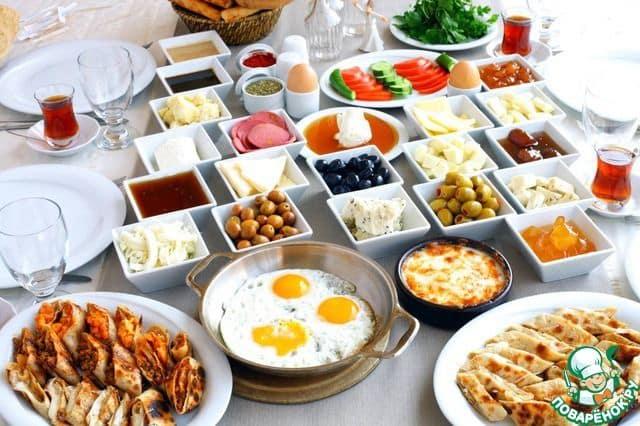 Среднеземноморский завтрак