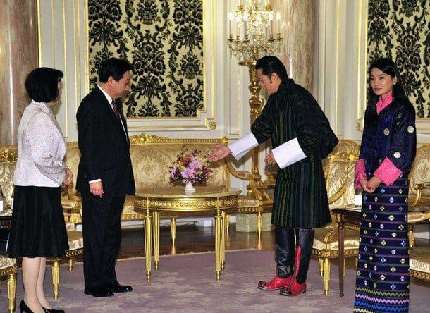 На дипломатическом приёме