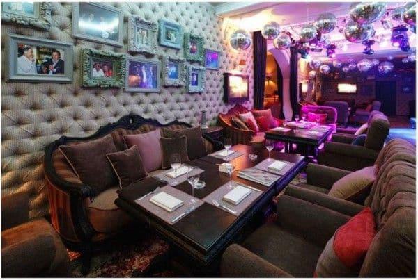 Интерьер ресторана Leps Bar в Киеве