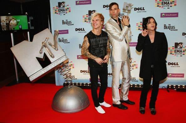 Группа Placebo на MTV Europe Music Awards