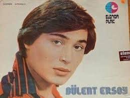Булент Эрсой в самом начале своей эстрадной карьеры