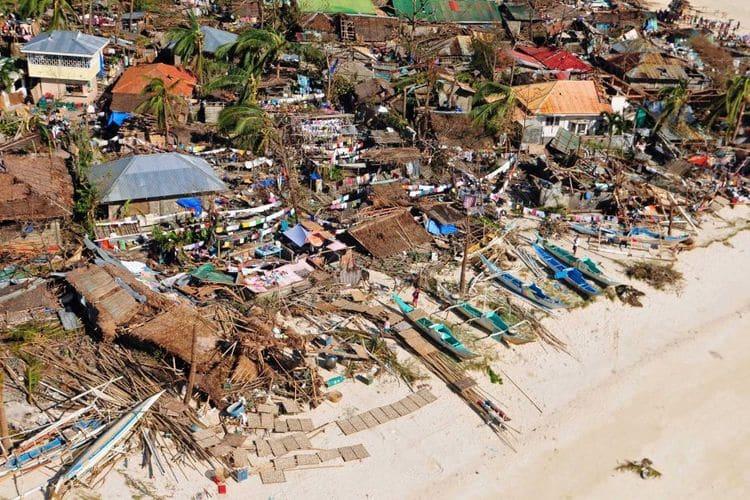 Последствия тайфуна Хаян на Филиппинах