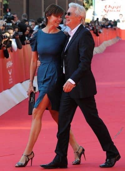 Ричард Гир с экс-супругой Кэри Лоуэл