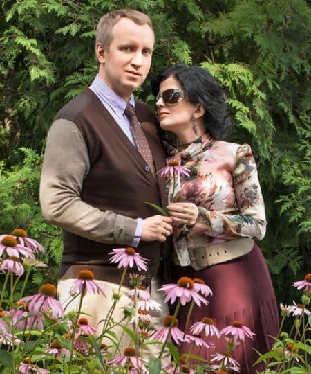 Диана Гурцкая с мужем