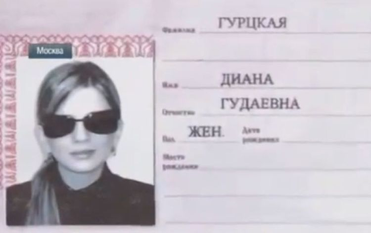 Фотография на паспорт Диана Гурцкая