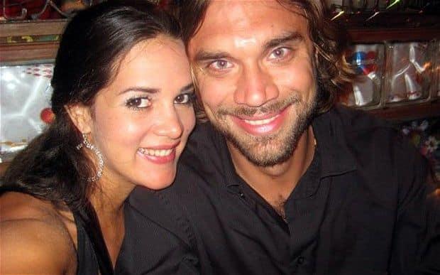 Моника Спир с супругом