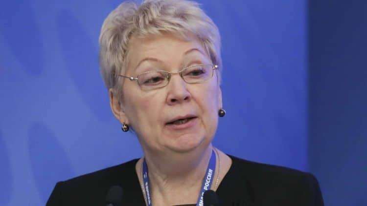 Биография Ольги Васильевой (министр образования) фото