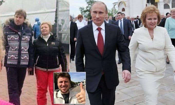 Жена Артура Очеретного – Людмила Путина фото