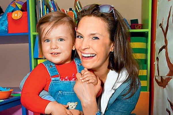 Дочь Марины Могилевской – Мария фото