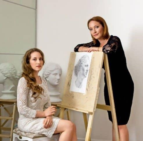 Дочери Елены Прокловой – Арина и Полина фото