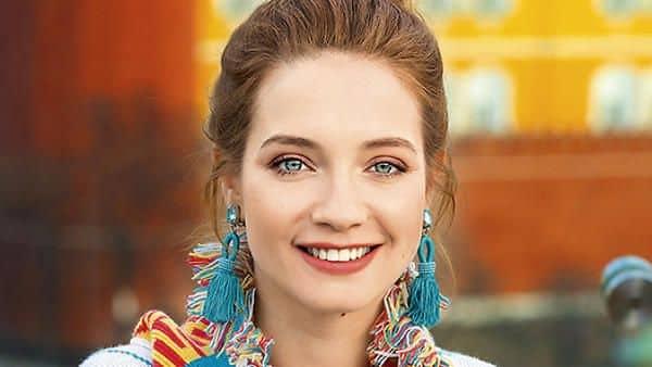 Фото Марии Луговой в журнале «Максим»