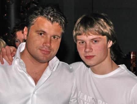 Олег Рой гибель сына, фото