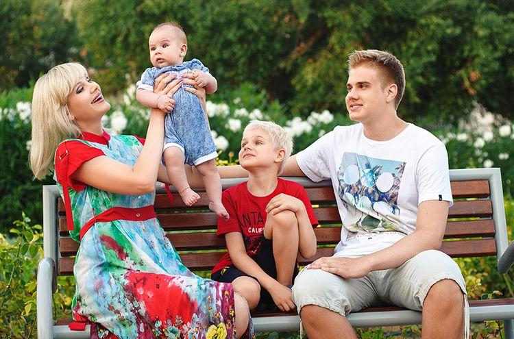 Семья Натали фото