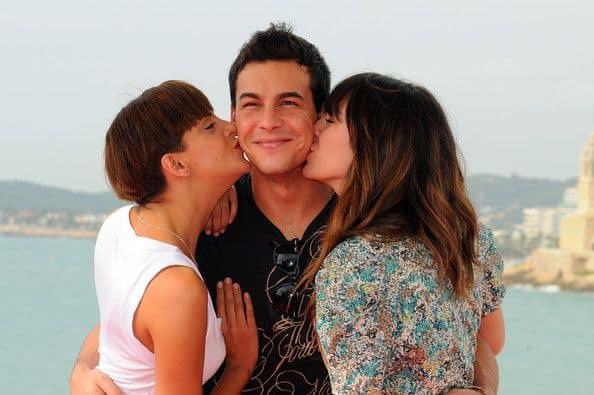 Семья и дети Марио Касас фото