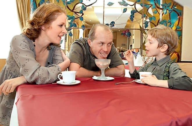 Семья и дети Натальи Рогожкиной фото