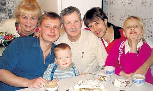 Семья и дети Сергея Перегудова фото